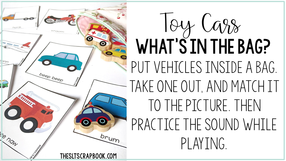 Image showing how you can use toy cars to support early language skills